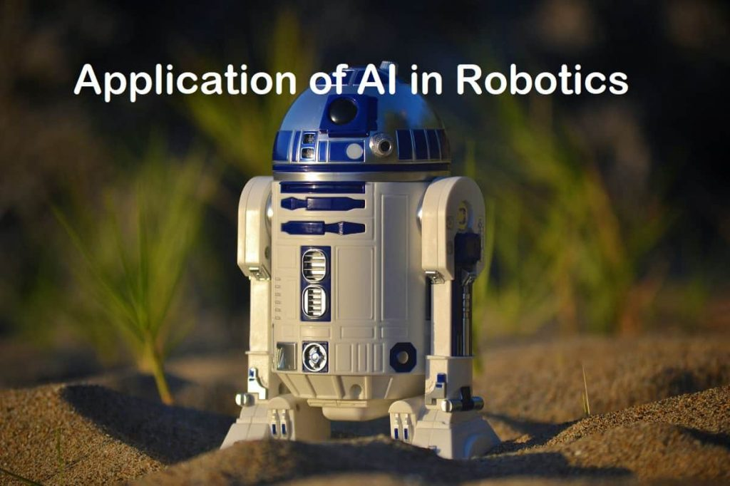 Application of AI in Robotics