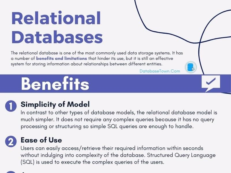 Relational Database Benefits and Limitations